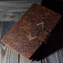 Load image into Gallery viewer, Vintage Handmade Leather Journal