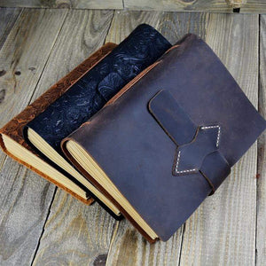 Vintage Handmade Leather Journal