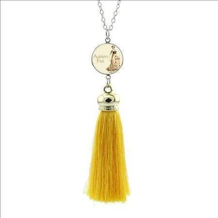 Jane Austen Tassel Necklace