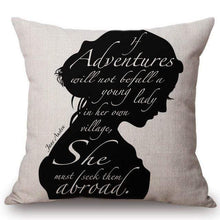 Load image into Gallery viewer, Quotes & Notes Decorative Cushion Cover