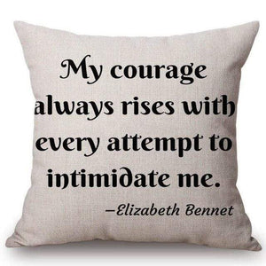Quotes & Notes Decorative Cushion Cover