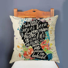 Load image into Gallery viewer, Romantic Quotes Cushion Cover