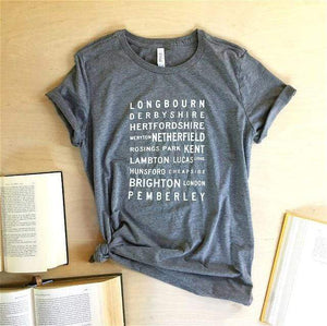 Pride and Prejudice T-Shirt -  thejaneaustenshop.co.uk