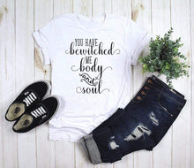 Load image into Gallery viewer, Bewitched Me Body and Soul Jane Austen T-Shirt