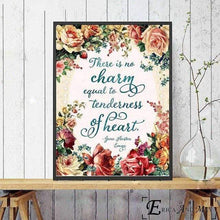 Load image into Gallery viewer, Jane Austen Love Quote Canvas Picture