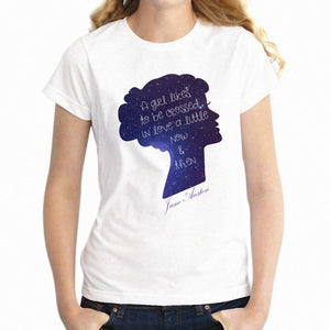Jane Austen Crossed In Love T-Shirt -  thejaneaustenshop.co.uk