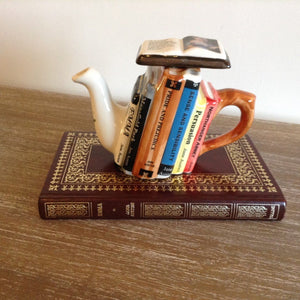 Jane Austen Novels Teapot