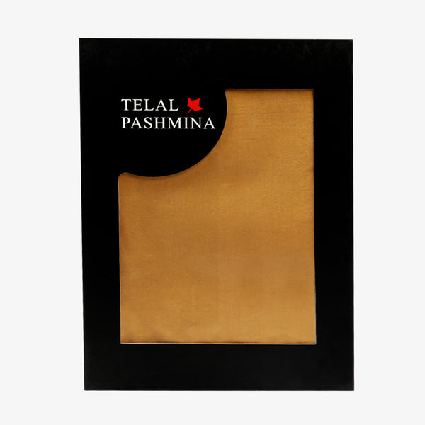 Telal Pashmina - Brown (WITHOUT DESIGN)