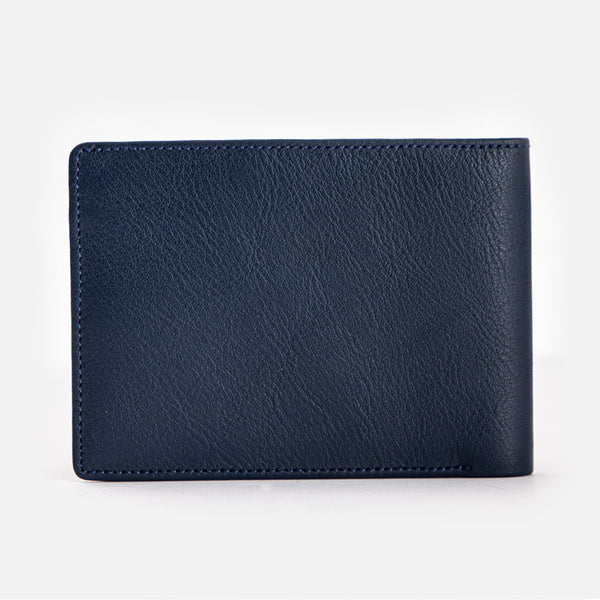 CARLO Bi-Fold Quadrat Leather Wallet