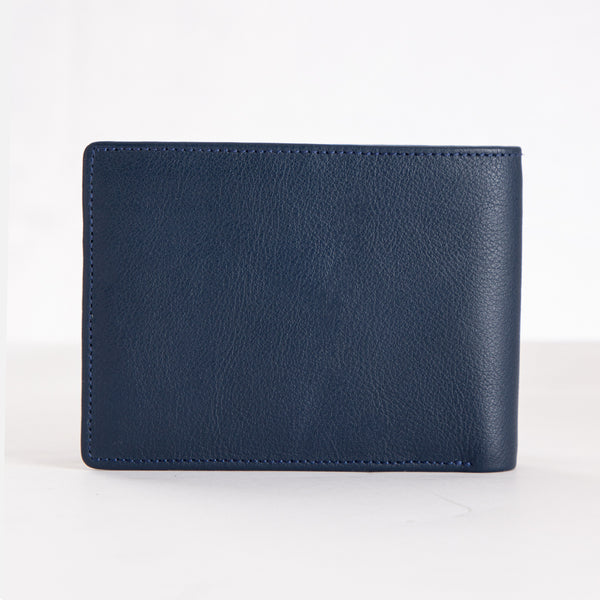 CARLO Bi-Fold Classic Leather Wallet