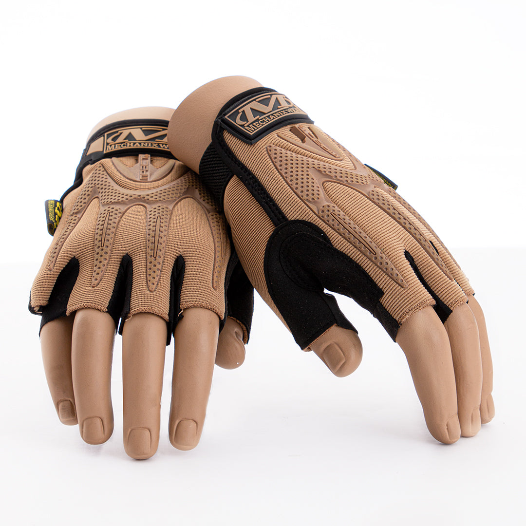 Fingerless Bikers Gloves