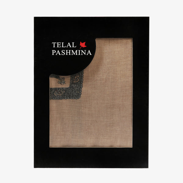 Telal Pashmina - Light Grey