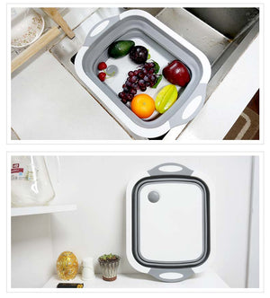 Cut & Colander Combo Board - Popular Pantry