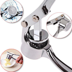 Stainless Steel Garlic Crusher - Popular Pantry