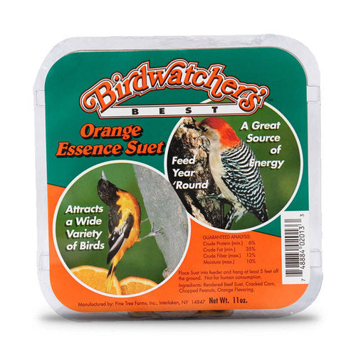 Bird Watcher's Best Orange Essence Suet