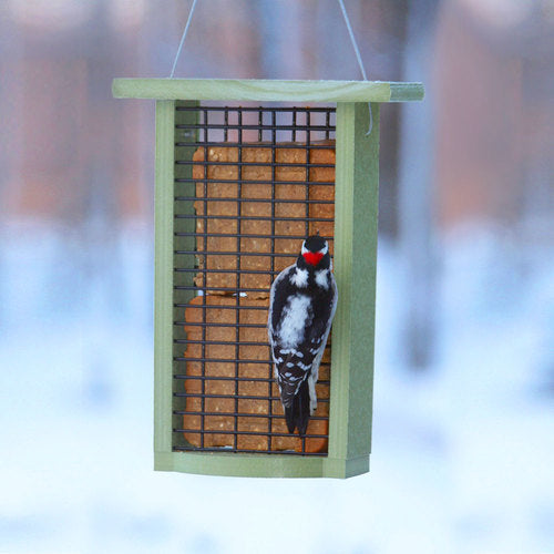 Sun Country Farms Recycled Double Suet Feeder