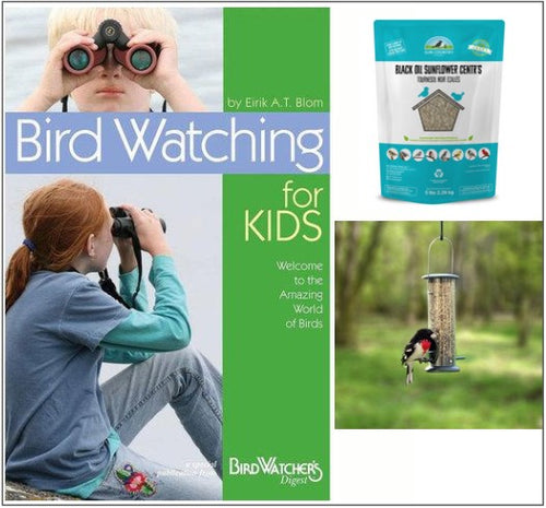 Kids Sunflower Kernel Wild Bird Feeding Kit