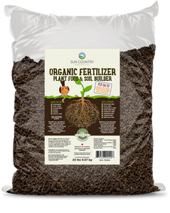 Organic Wild Bird and Worm Friendly Lawn and Garden Fertilizer