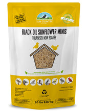 Load image into Gallery viewer, Black Oil Sunflower Minis