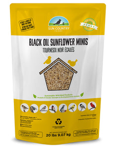 Black Oil Sunflower Minis