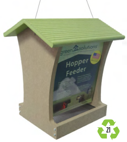 Sun Country Recycled Tall Hopper Feeder