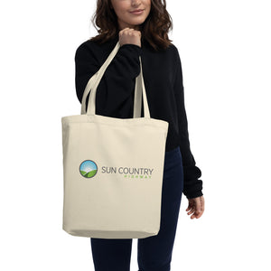 Sun Country Highway Medium Organic Eco Tote Bag + 1 tree planted