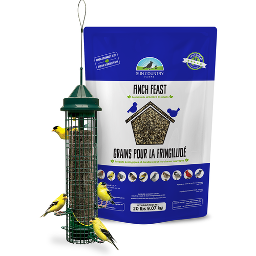 Squirrel Buster Finch Feeder Free Seed
