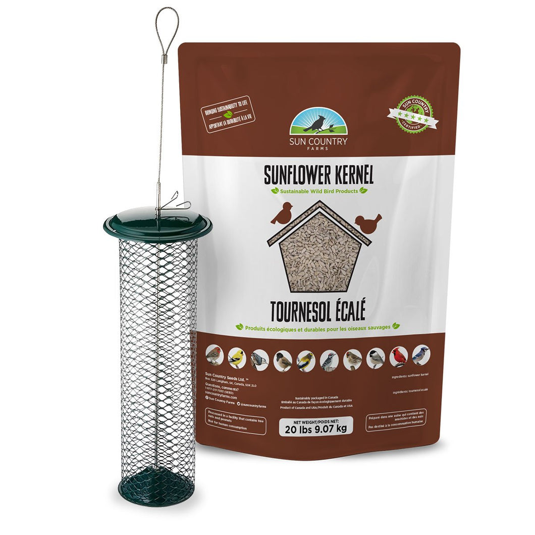Sun Country Farms Mini Waste Free Kernel Feeder Free Seed