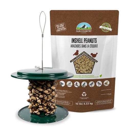 Magnet Mesh In-Shell Peanut Feeder Free Seed