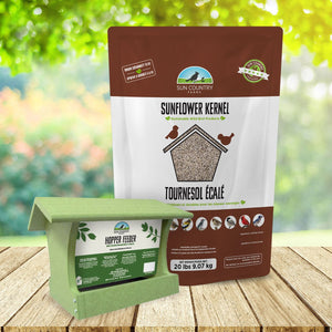 Sun Country Farms Recycled Medium Hopper Feeder Free Seed