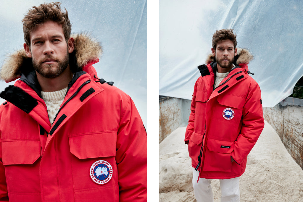 5c5d9149abe7 Shop the Womens Expedition Parka · Shop the Mens Expedition Parka · Shop  the Canada Goose Collection