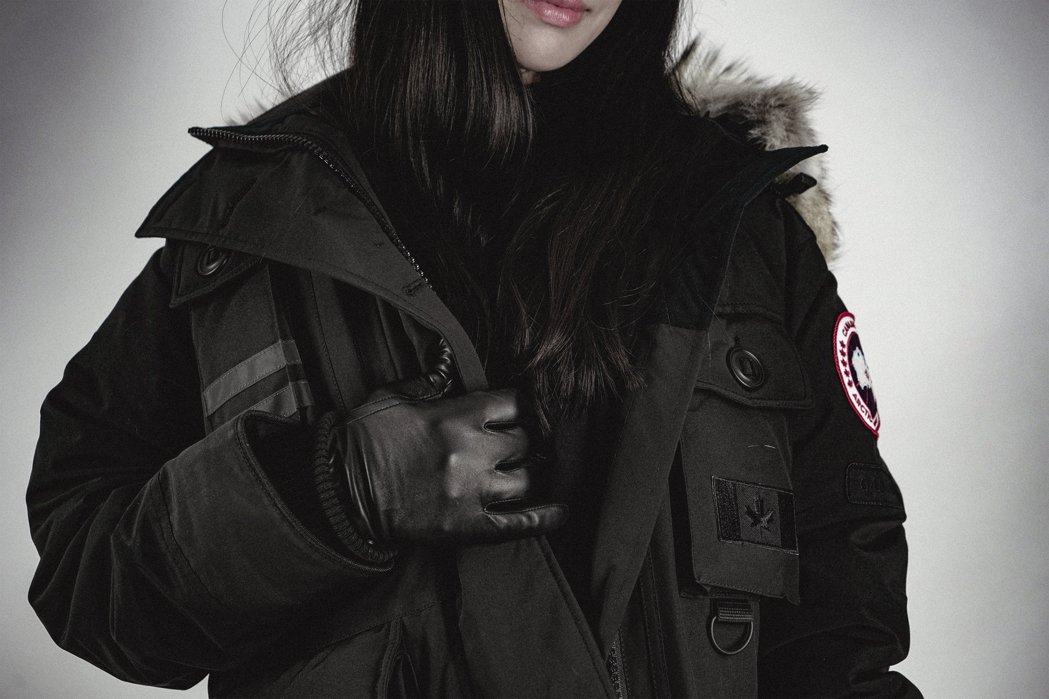 canada goose limited edition black