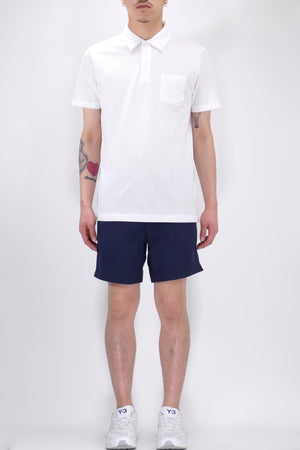 Sunspel Riviera Polo White