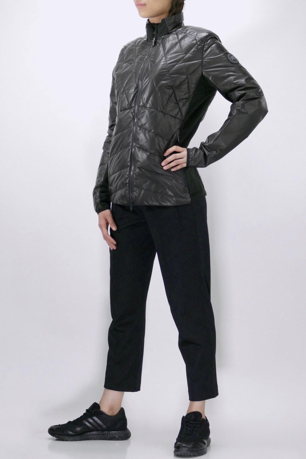 Canada Goose Womens Jacket Nomad Hybridge Black