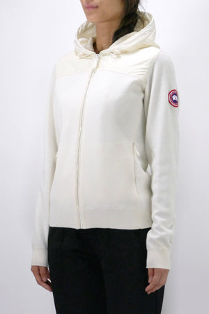 Canada Goose Womens Knit Hoody Windbridge Cotton Grass