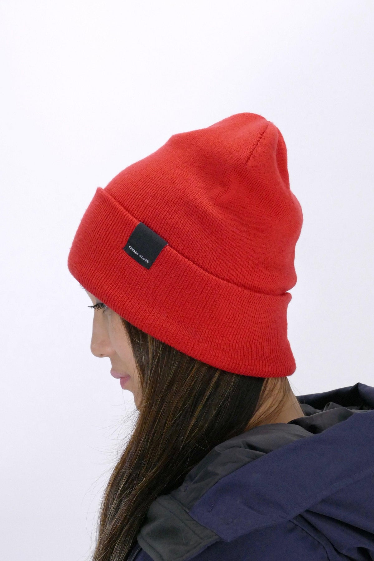 Canada Goose Womens Winter Accessories - Hats - Ranger Toque - Red