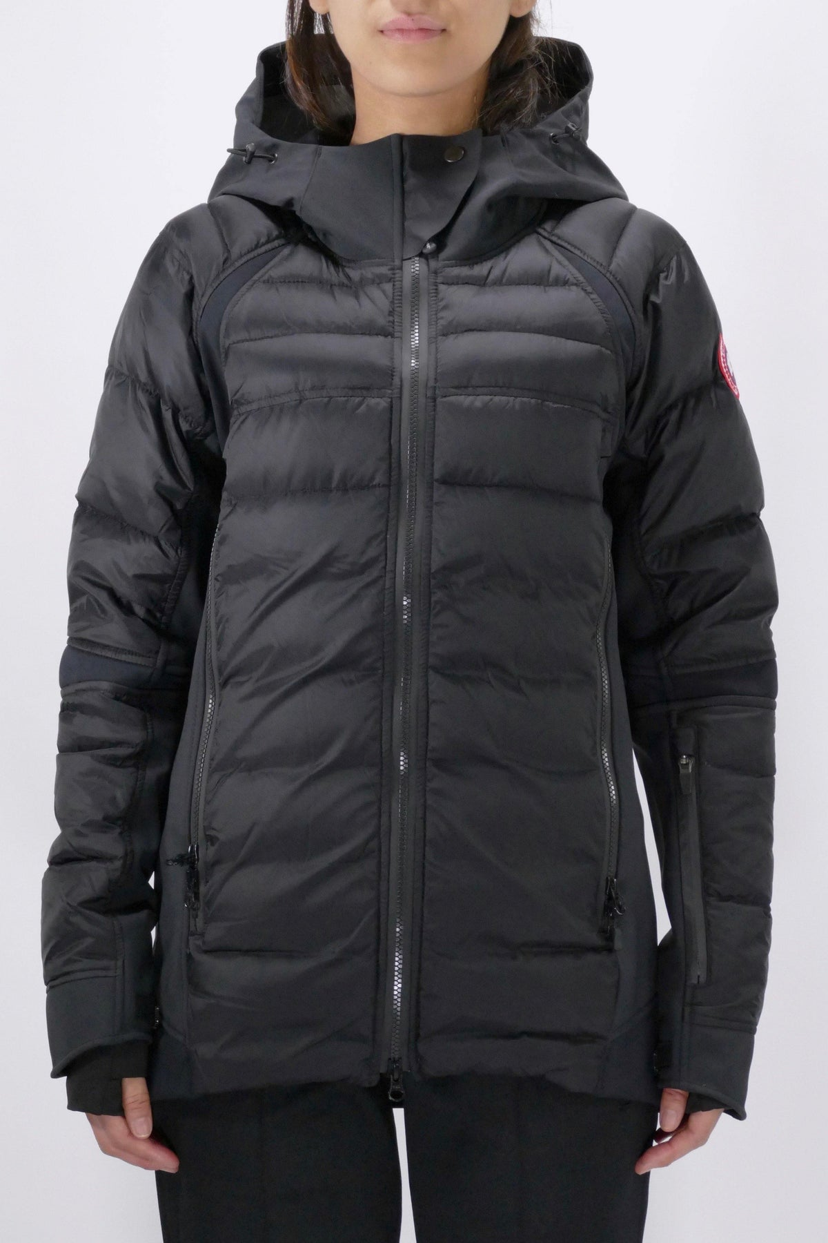 Canada Goose Womens *Parka Hybridge Sutton - Black
