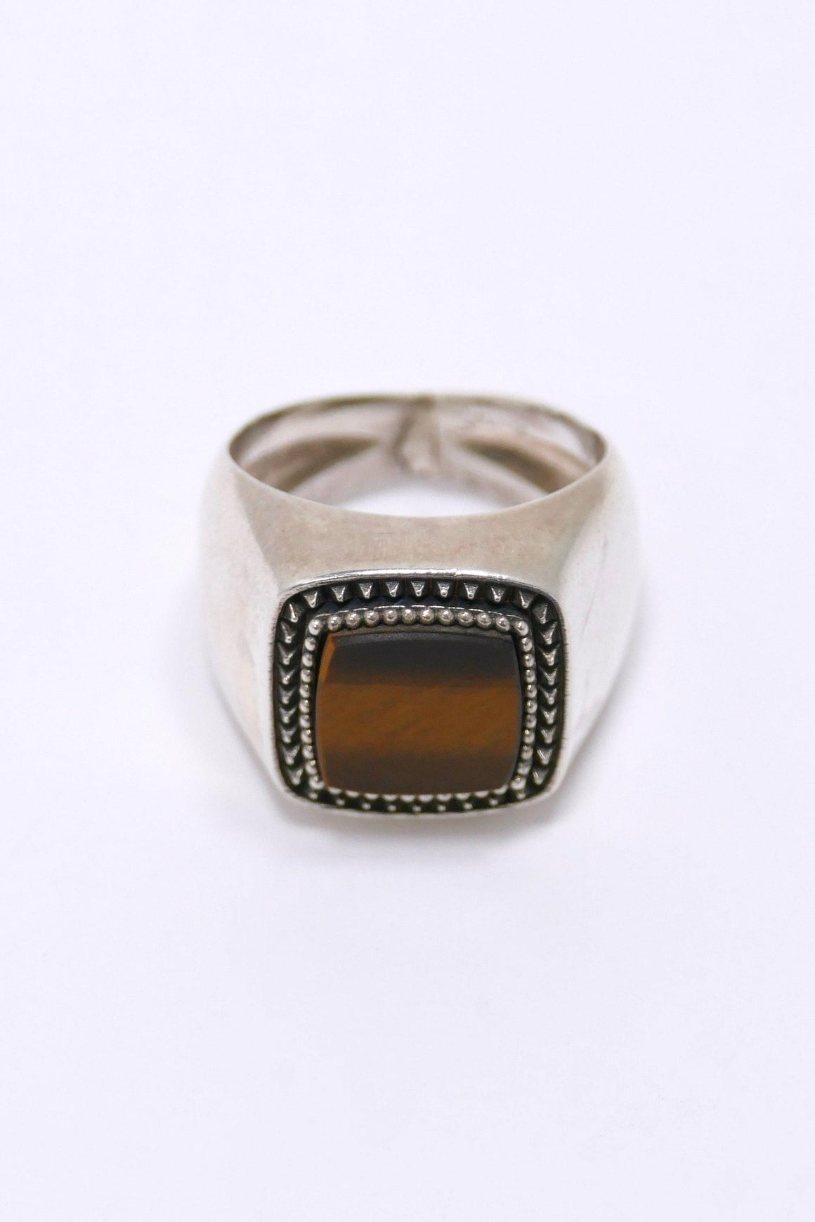 Emanuele Bicocchi RIng With Tiger Eye
