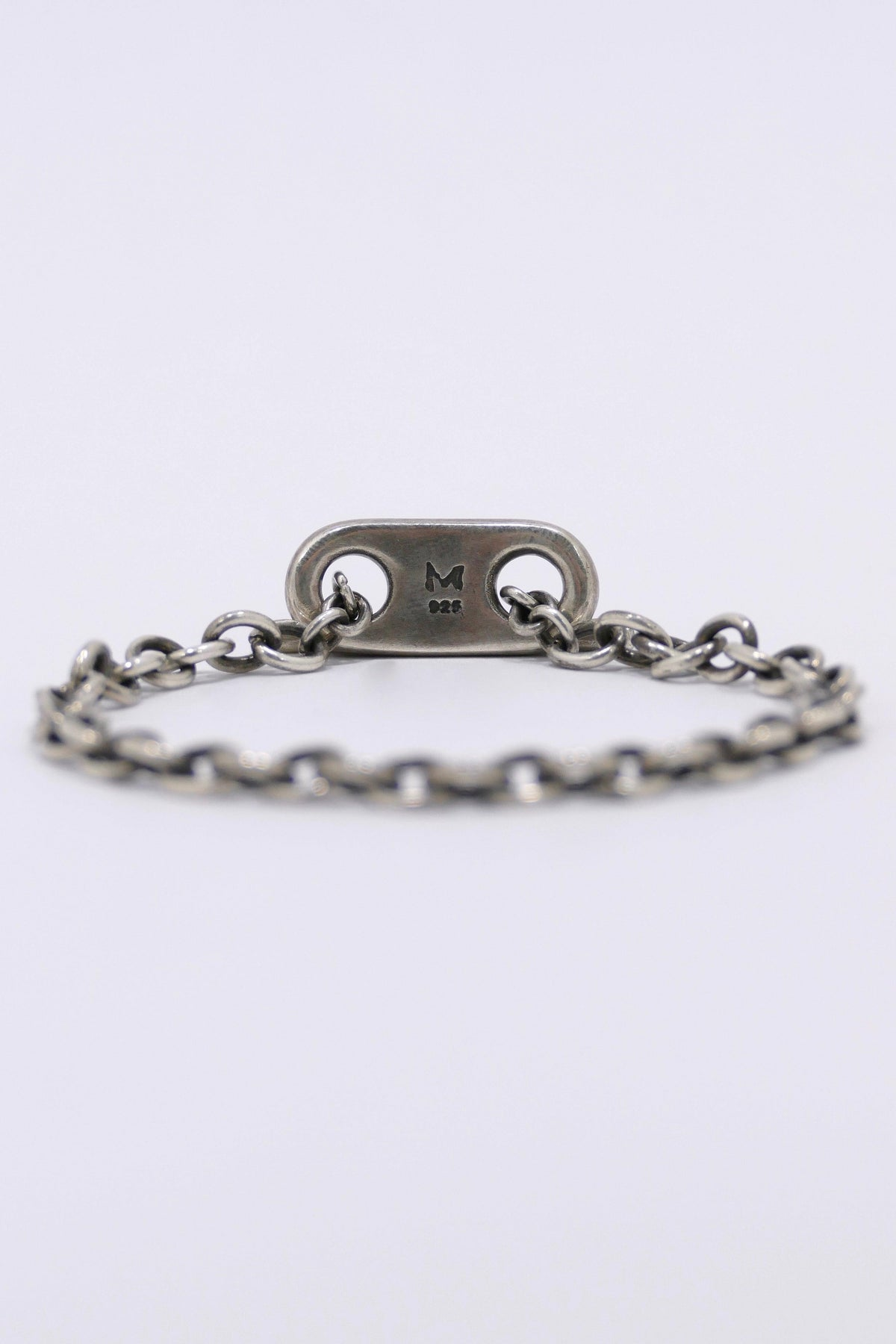 M. Cohen 11MM Short ID Bar Bracelet