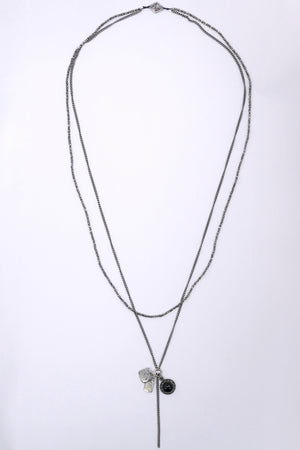 M.Cohen Royal Plate Necklace