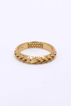 Emanuele Bicocchi Gold Band Ring