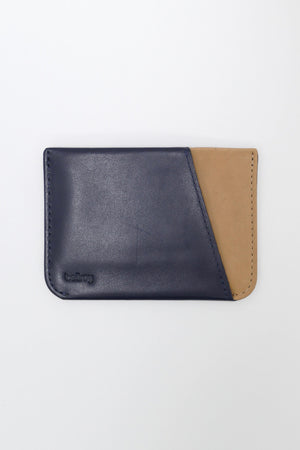 Bellroy Micro Sleeve Wallet Navy/Tan
