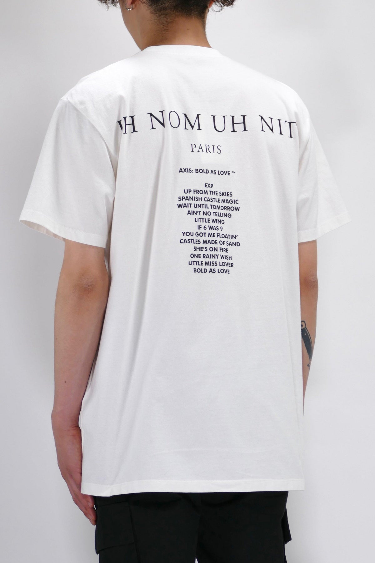 Ih Nom Uh Nit Hendrix T-Shirt Off White