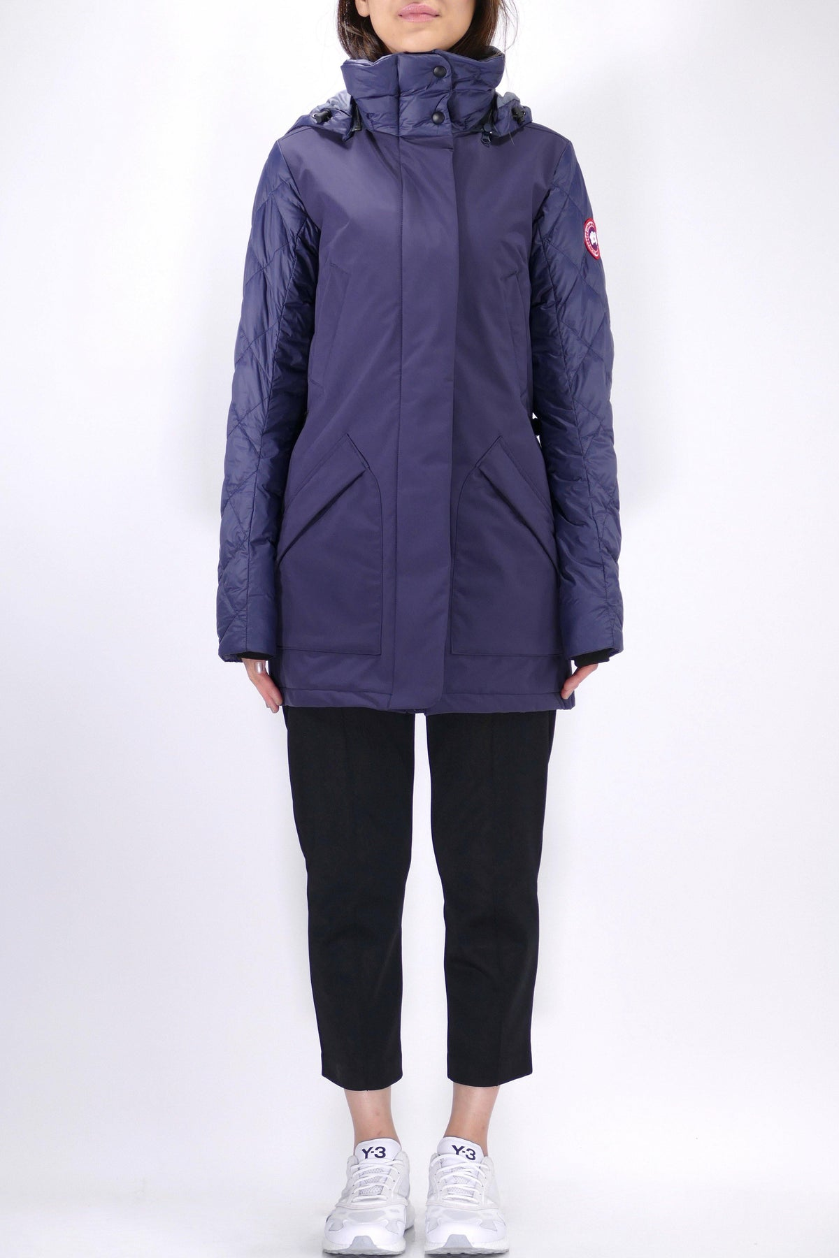 Canada Goose Womens Lite Coat Berkley - Navy