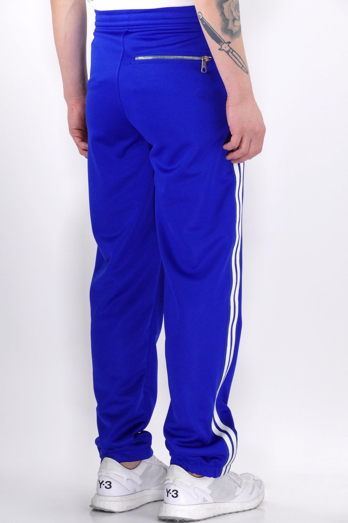 Neil Barrett Side Stripe Trackpants Sapphire