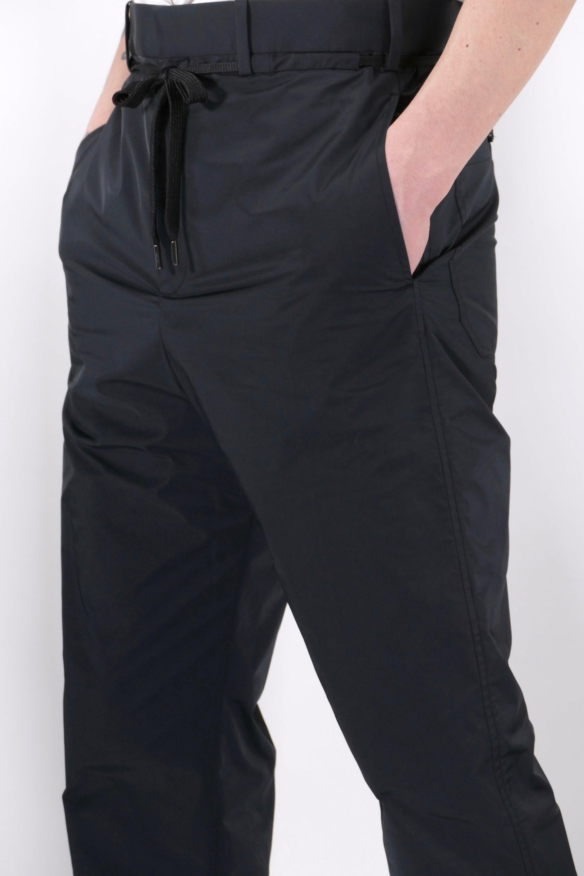 Neil Barrett Elastic Hem Trousers Black