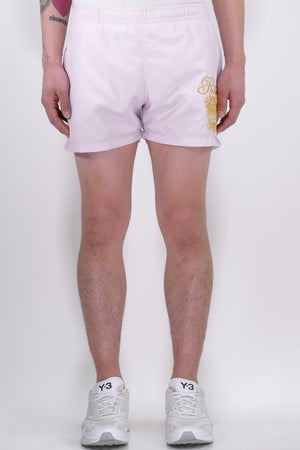 SSS World Corp Ritz Lurex Swim Shorts Pink