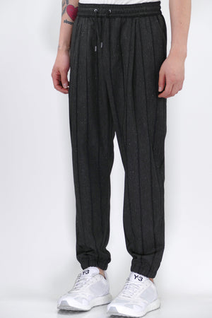 McQ Tailored Trackpants Charcoal