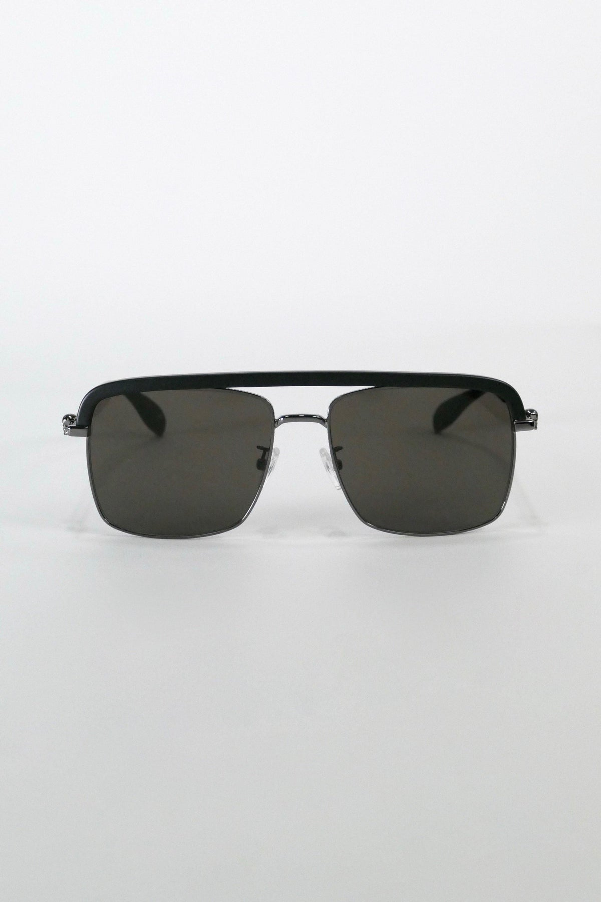 Alexander McQueen Sunglasses AM0258S 002 59 Ruthenium