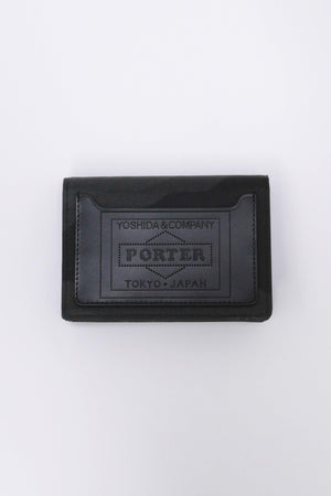 Porter Camouflage Wallet Card Case Woodland Black